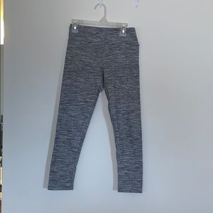 american eagle cropped stripped leggings